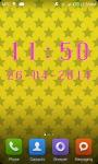 Pink Digital Clock screenshot 1/6