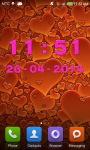Pink Digital Clock screenshot 2/6