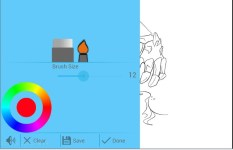 Frozen Cute Coloring Pages Z screenshot 2/3