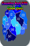 Country And STD Code Quiz screenshot 1/3