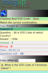 Country And STD Code Quiz screenshot 3/3