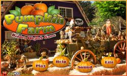 Free Hidden Object Games - Pumpkin Farm screenshot 1/4
