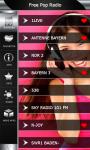 Free Pop Music Radio screenshot 2/6