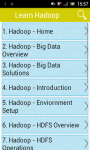 Learn Hadoop screenshot 1/3