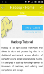 Learn Hadoop screenshot 2/3