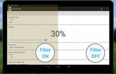 Blauw licht filter PRO specific screenshot 2/6