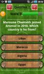 English Premier League Quiz  screenshot 2/5
