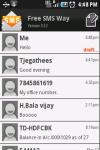 Free SMS Way New screenshot 1/6