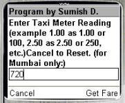 Taxi Fare Mumbai screenshot 1/1