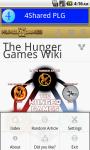 The Hunger Games Wiki screenshot 3/6