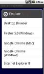 Desktop Browser screenshot 1/6