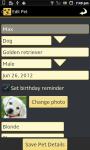 PetPal - Pet Organizer screenshot 4/6