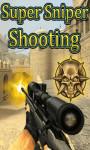 Super Sniper Shooting - Free screenshot 1/4
