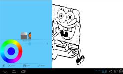 Spongebob Squarepants Coloring Pages screenshot 1/2