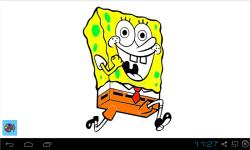 Spongebob Squarepants Coloring Pages screenshot 2/2
