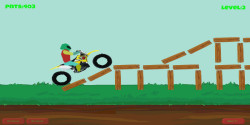 Funny Stunt Bike Racing  screenshot 1/1