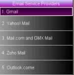 Email new version screenshot 1/1