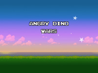 Angry Dino Wars screenshot 1/6