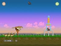 Angry Dino Wars screenshot 3/6