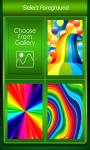 Zipper Lock Screen Rainbow screenshot 3/6