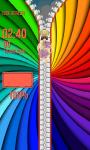 Zipper Lock Screen Rainbow screenshot 5/6