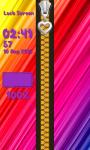 Zipper Lock Screen Rainbow screenshot 6/6