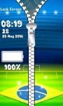 Sport Zipper Lock Screen screenshot 5/6