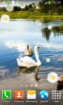 Swan Live Wallpapers screenshot 3/6