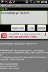 Html Links Extractor screenshot 1/6