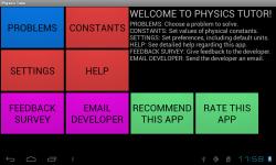 The Physics Tutor screenshot 1/6