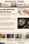 Financial Times iPad Edition screenshot 1/1