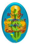 Monthly Investment Savings Calculator v1 screenshot 1/3