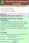 Monthly Investment Savings Calculator v1 screenshot 3/3