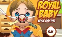 Royal Baby Nose Doctor screenshot 1/3