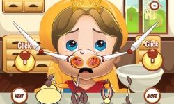 Royal Baby Nose Doctor screenshot 2/3