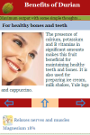 Benefits of Durian screenshot 3/3