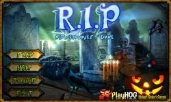 Free Hidden Object Games - R I P screenshot 1/4