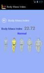 BMI app screenshot 3/3