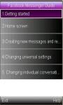 Facebook Messenger Guide screenshot 1/1