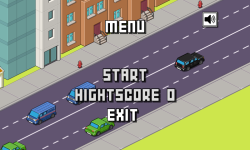 Pixel Police Traffic Racer screenshot 1/3