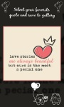 Romantic Love Quotes - Game screenshot 3/3