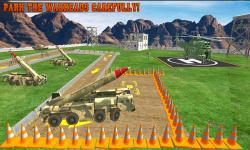 Army Truck Parking Drive 2016 screenshot 5/6