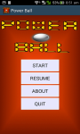 Power Ball Game screenshot 2/6