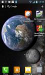 Earth and Moon in HD Gyro 3D PRO ordinary screenshot 5/6