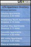 UTA Apartment Directory screenshot 2/6