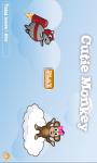 Cutie Monkey HD 2way screenshot 1/2