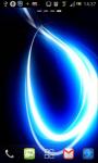 Blue Laser Swirl Live Wallpaper screenshot 2/6