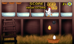 Angry Chicken Egg Madness screenshot 1/6