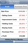 Property Flipper - Real Estate Investment Calculator screenshot 1/1