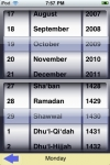 Islamic/Gregorian Calendar screenshot 1/1